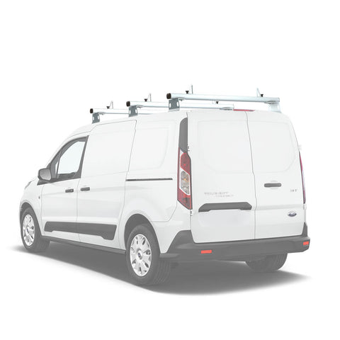AA-Racks Aluminum Van Roof Ladder Rack with Load Stop Utility Cargo Carrier Rack (Fits: Transit Connect 2014-Newer) (AX302-TR(CN)) - AA Products Inc