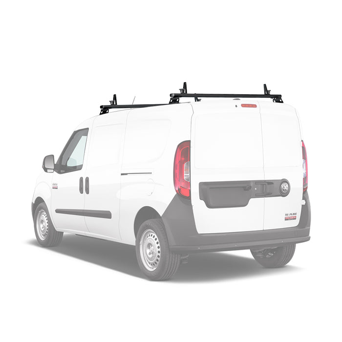 AA-Racks Aluminum Heavy Duty Cargo Van Ladder Roof Racks (Fits: RAM ProMaster City 2015-On) (AX312-PR(CT)) - AA Products Inc