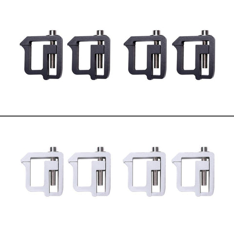 AA-Racks Truck Cap Topper Camper Shell Mounting Clamps Bracket Set of 4 (P-AC-09) - AA Products Inc