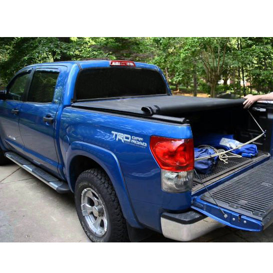 AA Products Soft Roll Up Truck Bed Tonneau Cover Compatible Toyota Tacoma 2016 up to 2018 | Fits 5' Bed 6' Bed (TC-RO-TA(16-18) - AA Products Inc