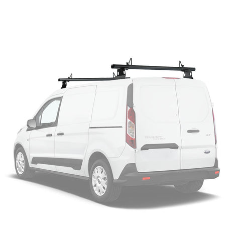 AA-Racks Aluminum Van Roof Ladder Rack with Load Stop Utility Cargo Carrier Rack (Fits: Transit Connect 2014-Newer) (AX302-50/60-TR)