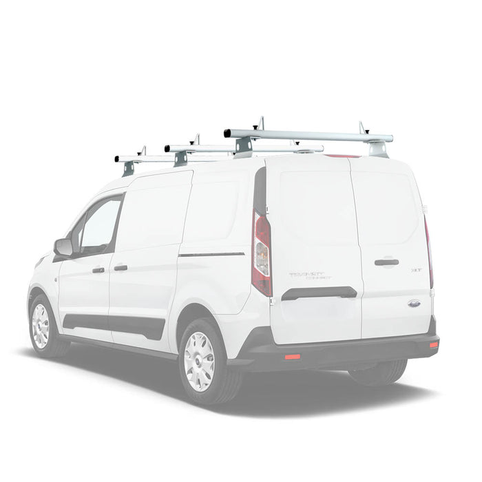 AA-Racks Aluminum Van Roof Ladder Rack with Load Stop Utility Cargo Carrier Rack (Fits: Transit Connect 2014-Newer) (AX302-TR(CN)) - AA