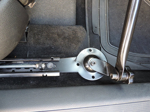 AA-Products: Car Under Seat Installation Laptop Stand With Ball-Head
