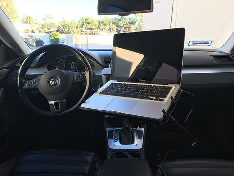 AA-Products: Fan Powered Computer Tray (Cars-Vans-Trucks-Suvs) for Laptops / Notebooks / Tablets (K002-AC)
