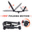 AA-Racks Truck Ladder Racks with Mounting Clamps and Double Folding Kayak J-Rack Ratchet Tie Down Straps (Fits:Toyota Tacoma 2016-On) (KX-245/255-TA) - AA Products Inc
