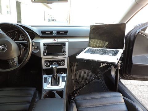 AA-Products: Laptop mount/stand/holder (SUPPORTING ARM ENFORCED) for car/truck/van/SUV