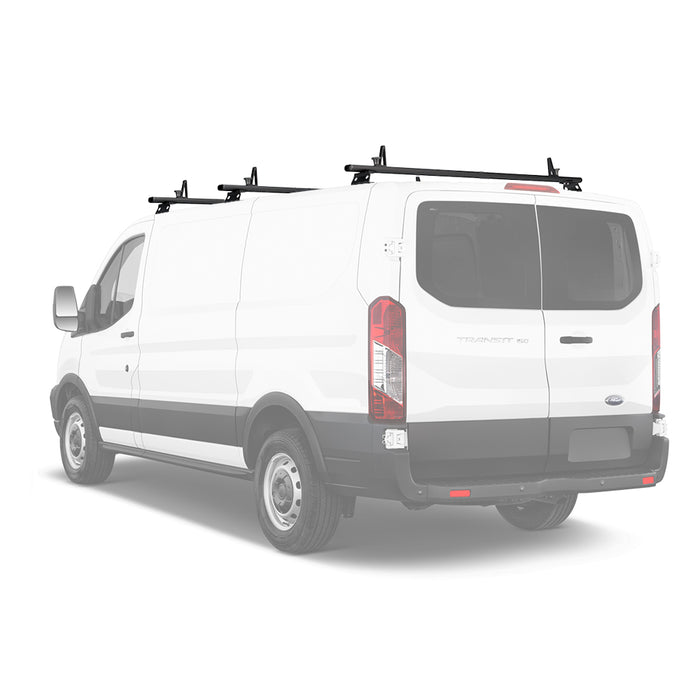 AA-Racks Aluminum Van Ladder Roof Racks System Cargo Carrier (Fits: Transit 2015-On) (AX312-TR) - AA Products Inc