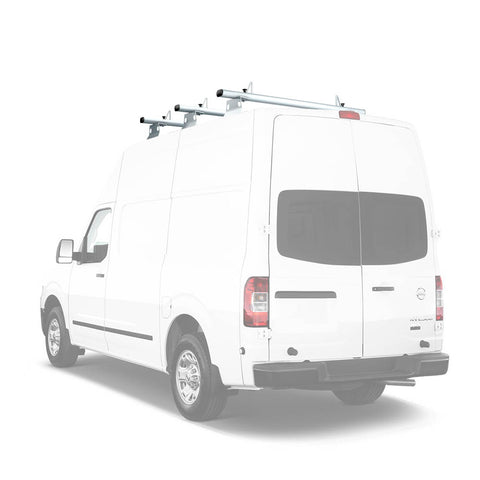 AA-Racks Aluminum Cross Bar Van Roof Top Rack Cargo Carrier for Nissan NV 2012-On (AX302-NV)