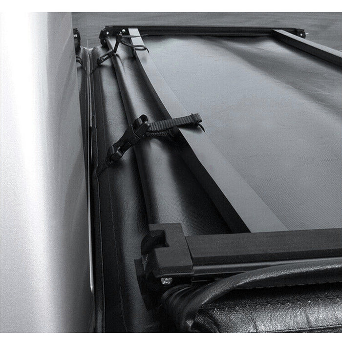 AA Products Soft Tri-Fold Truck Bed Tonneau Cover Compatible Toyota Tundra 2007 up to 2013 | Fits 6.5' Bed (TC-ST-TD-6.5(07-13) - AA Products Inc