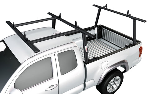 AA-Racks Aluminum Pickup Truck Utility Ladder Racks with Over Cab Extension for Toyota Tacoma 2005-On (APX25-E-TA)