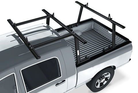 AA-Racks Adjustable Aluminum Pickup Truck Ladder Racks with Cantilever Extension - (APX25-E)