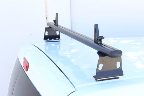 AA-Racks Aluminum Van Roof Rack System with Load Stop (Fits: Nissan NV200(2013-On)) (AX302-NV200)