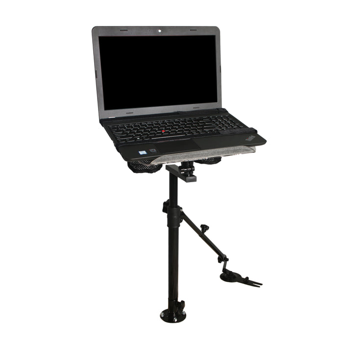 AA Products Adjustable Auto Laptop Mount Truck Vehicle Netbook Stand Holder with Supporting Arm Kit (K005-A2) - AA Products Inc