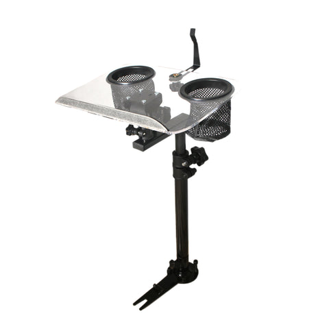 AA Products Police Auto Laptop Mount Car Truck VAN SUV Vehicle Netbook Stand Holder with No Drilling Bracket (K005-A1) - AA Products Inc