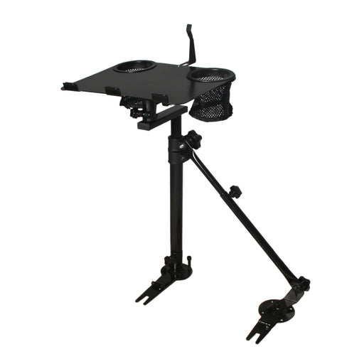 Car Laptop Mount Stand Holder With Non-Drilling Bracket + Supporting Arm Kit (K005-B3) - AA Products Inc