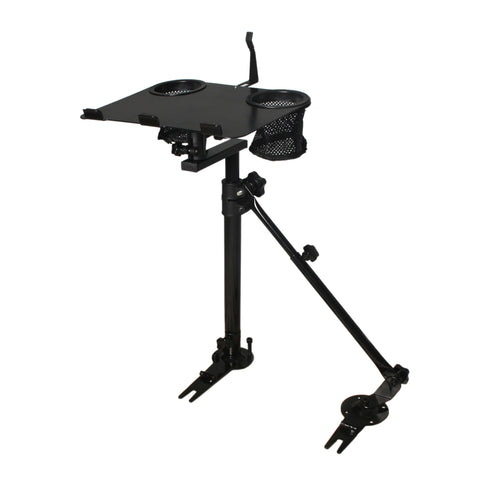 Car Laptop Mount Stand Holder With Non-Drilling Bracket + Supporting Arm Kit