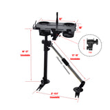 AA Products Car Laptop Mount Stand Holder With Non-Drilling Bracket and Aluminum Supporting Arm Kit (K002-BS)
