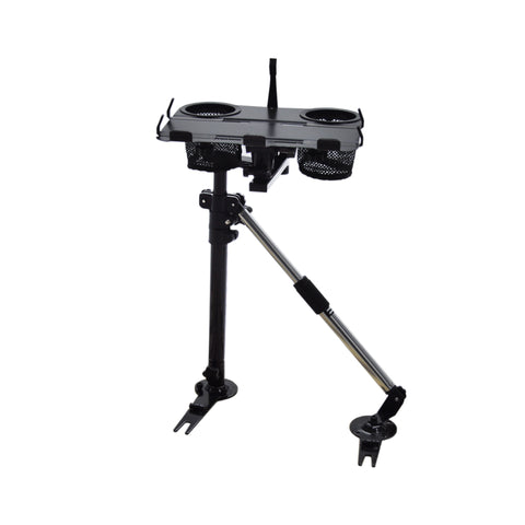 AA Products Car Laptop Mount Stands Holder with No Drilling Bracket and Aluminum Supporting Arm Kit (K002-BS) - AA Products Inc