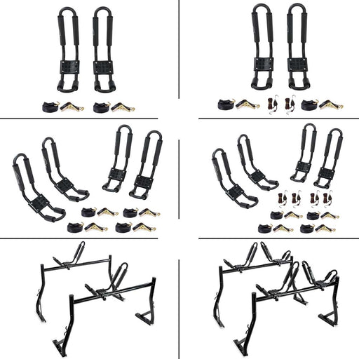 AA Racks Universal Kayak J-Rack Roof Racks (KX-300) - AA Products Inc