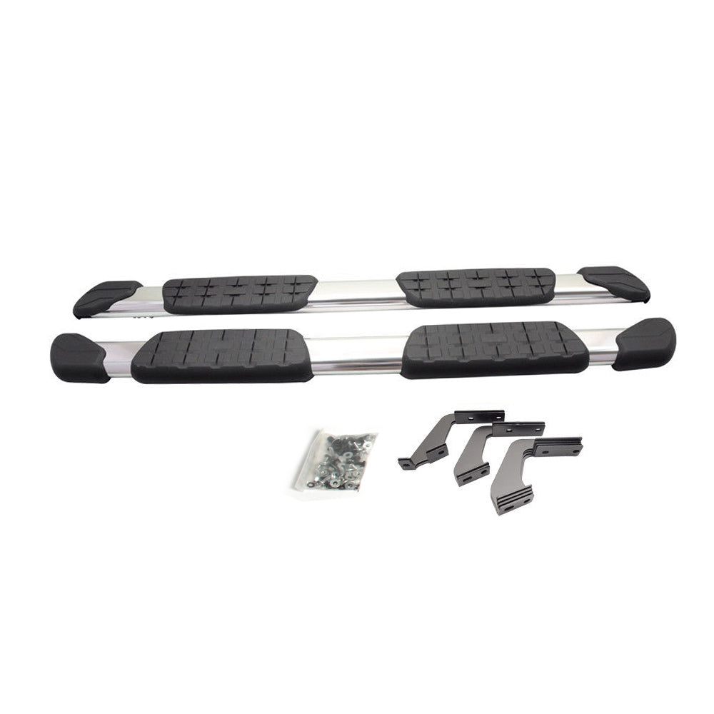 "AA Products Running Boards Compatible Toyota Tundra Double Cab 2007-2018 5"" Side Steps Rail 