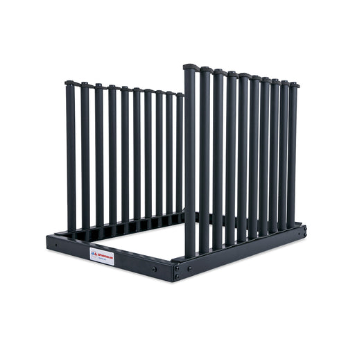 AA-Racks Windshield Rack with Quality Foam Pads Auto Glass Truck Cargo Management Rack with 22 Inch High Masts (9 Lite Slot Rack) - AA Products Inc