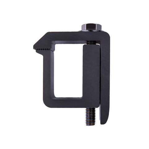 AA-Racks P-AC-05 Truck Cap / Camper Shell Mounting Clamp, Set of 4 - Black (P-AC(4)-05-BLK)