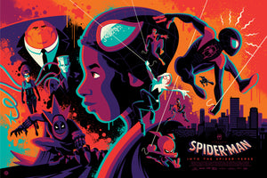 """Into the Spider-Verse"" Regular Edition by Tom Whalen"