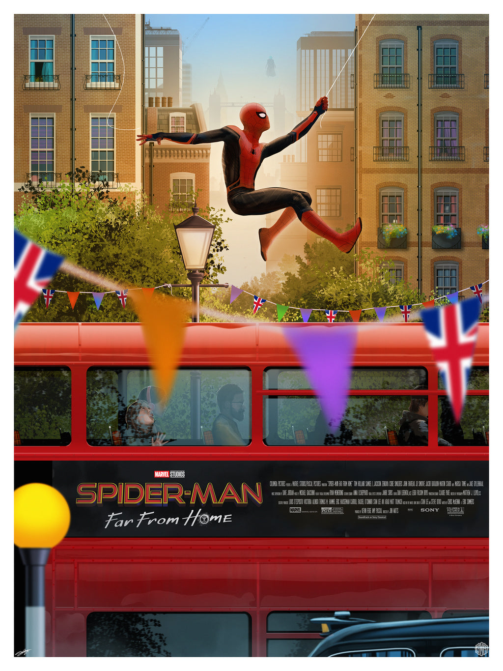 """Spider-Man: Far from Home"" by Andy Fairhurst"