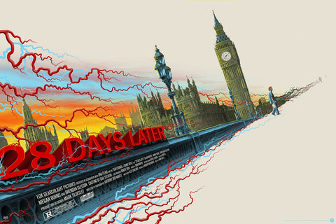 """28 Days Later"" Regular Edition by Mike Saputo"