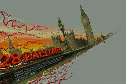 """28 Days Later"" Variant Edition by Mike Saputo"