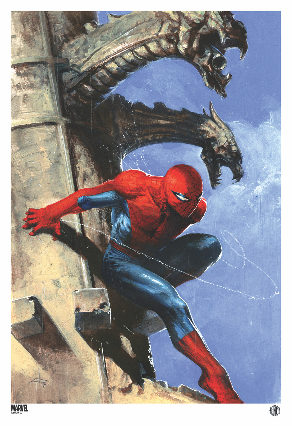 """The Amazing Spider-Man #1"" (Variant) Officially licensed, Marvel Comics Poster By Artist Gabriele Dell' Otto"