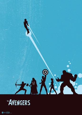The Avengers by Matt Ferguson