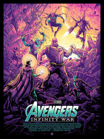 Avengers: Infinity War Regular Edition by Dan Mumford