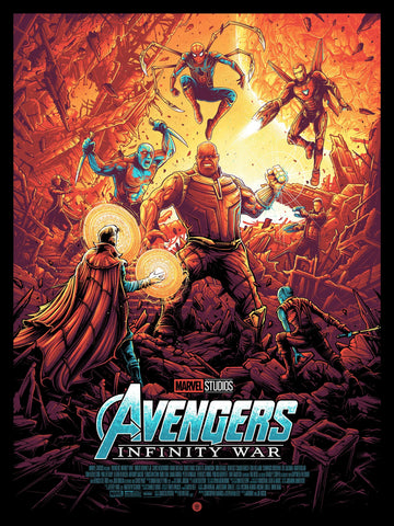 Avengers: Infinity War Variant Edition by Dan Mumford