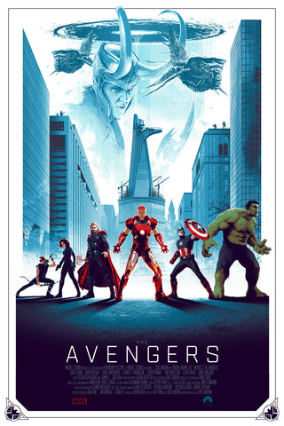 """The Avengers"" Regular Edition by Matt Ferguson"