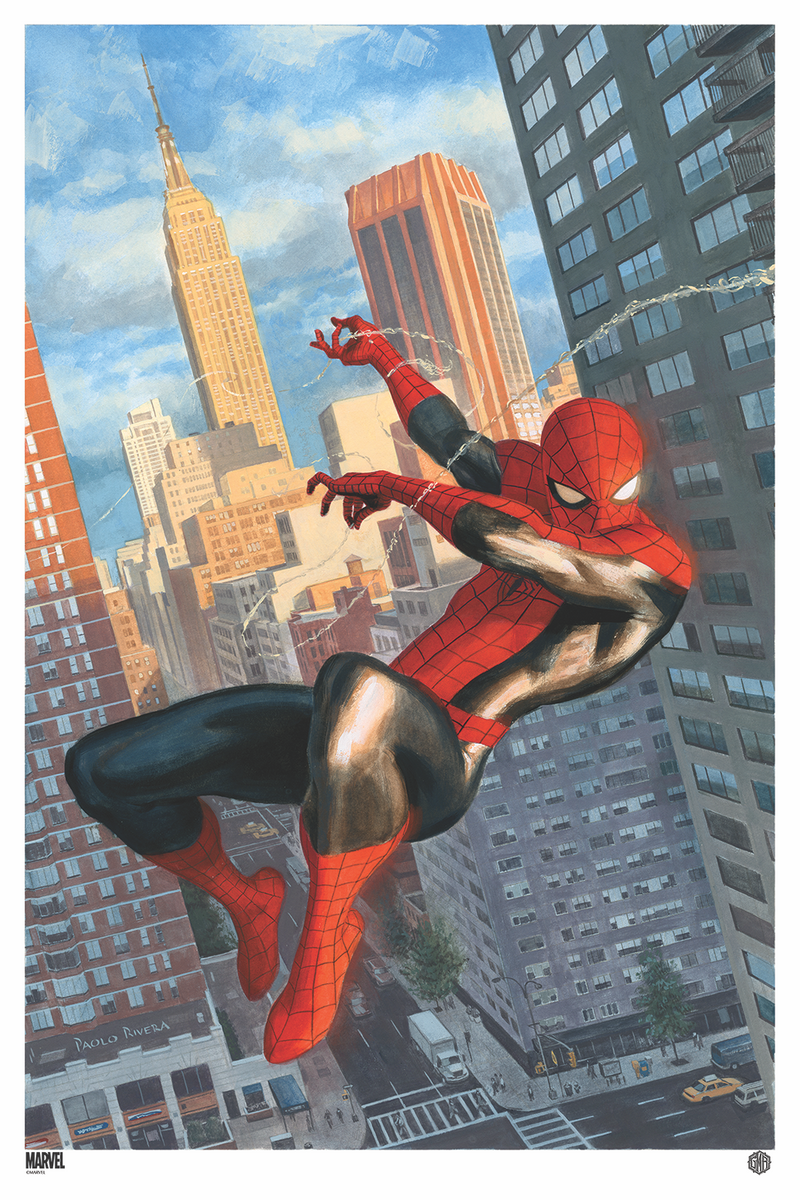 The Amazing Spider-Man #646 Variant by Paolo Rivera