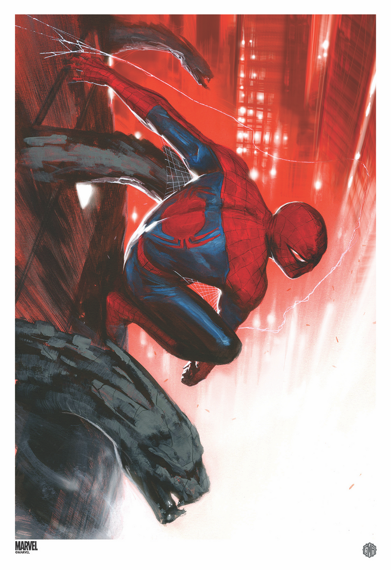 """The Amazing Spider-Man #24"" (Variant) Officially licensed, Marvel Comics Poster By Artist Gabriele Dell' Otto"