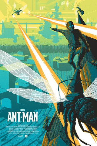 """Ant-Man"" Variant Edition by Florey - Grey Matter Art"