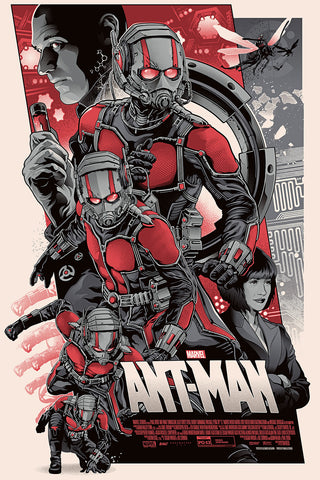 """Ant-Man"" Variant Edition by Alexander Iaccarino - Grey Matter Art"