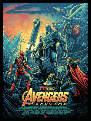 "Avengers: Endgame"" Regular Edition by Dan Mumford"