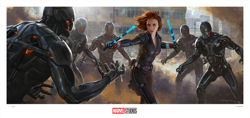 Avengers: Age of Ultron Concept Art by Andy Park