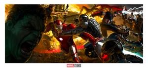 Avengers: Age of Ultron Concept Art by Ryan Meinerding