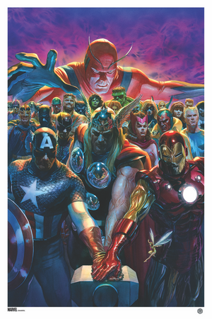 Avengers #10 Variant (Issue 700) by Alex Ross