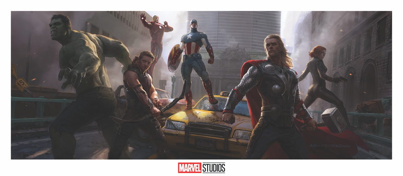 The Avengers Concept Art by Ryan Meinerding