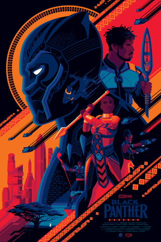 Black Panther Variant Edition by Tom Whalen