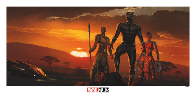 Black Panther Concept Art by Ryan Meinerding