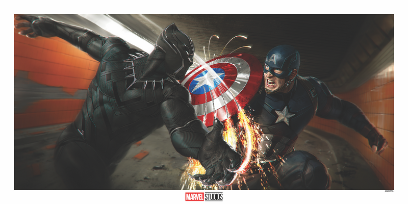 Captain America: Civil War Concept Art by Ryan Meinerding