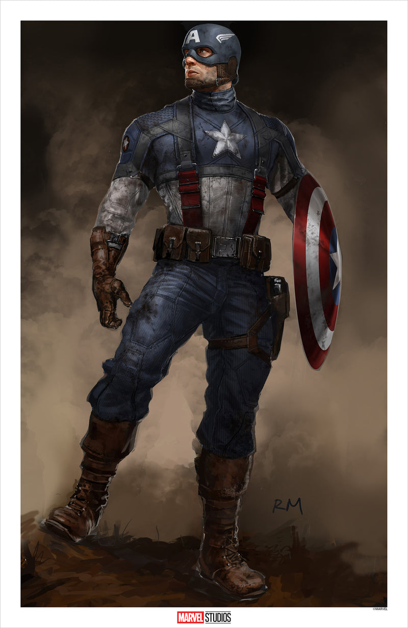 Captain America: The First Avenger by Ryan Meinerding