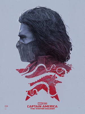 "Captain America: The Winter Soldier "" Bucky Vs."" Regular Edition by Gabz"
