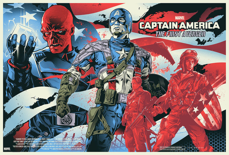 Captain America: The First Avenger by Alexander Iaccarino